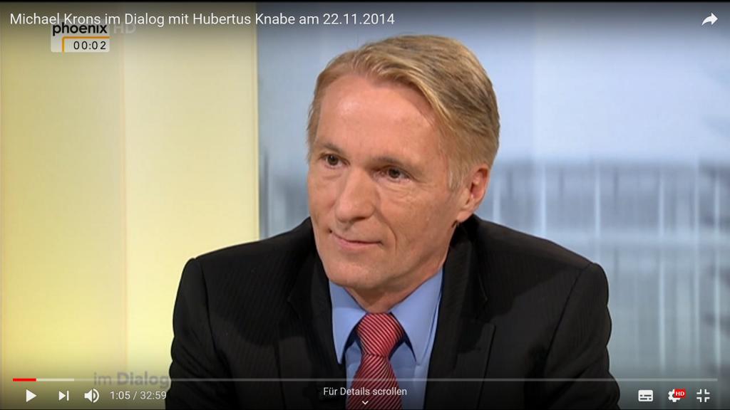 Phoenix-Interview von Michael Krons mit dem Berliner Historiker Hubertus Knabe über den Wahlsieg der Linken in Thüringen.
