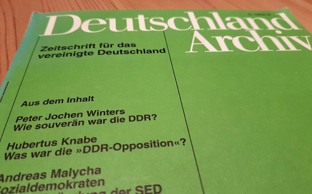 Aufsätze von Dr. Hubertus Knabe zur DDR, zur Stasi, zu Osteuropa und zur Aufarbeitung der Vergangenheit