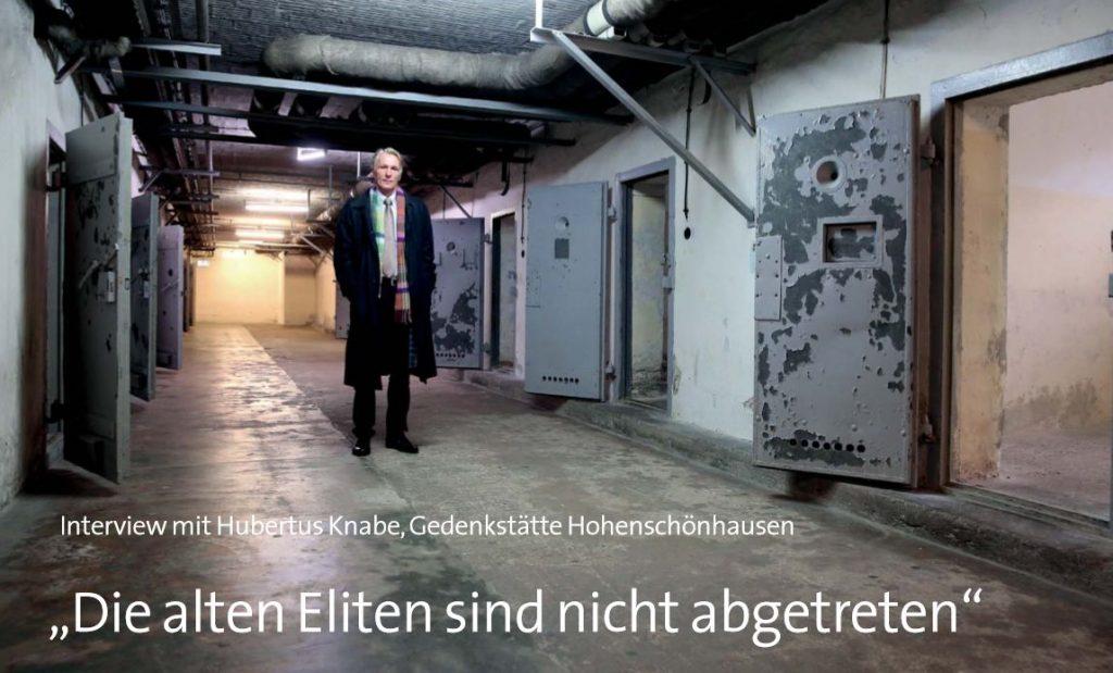 """Im Interview mit dem """"Kolpingmagazin"""" erklärt der Historiker Hubertus Knabe, was bei der Friedlichen Revolution im Herbst 1989 schief gelaufen ist - und welche Folgen dies bis heute hat."""