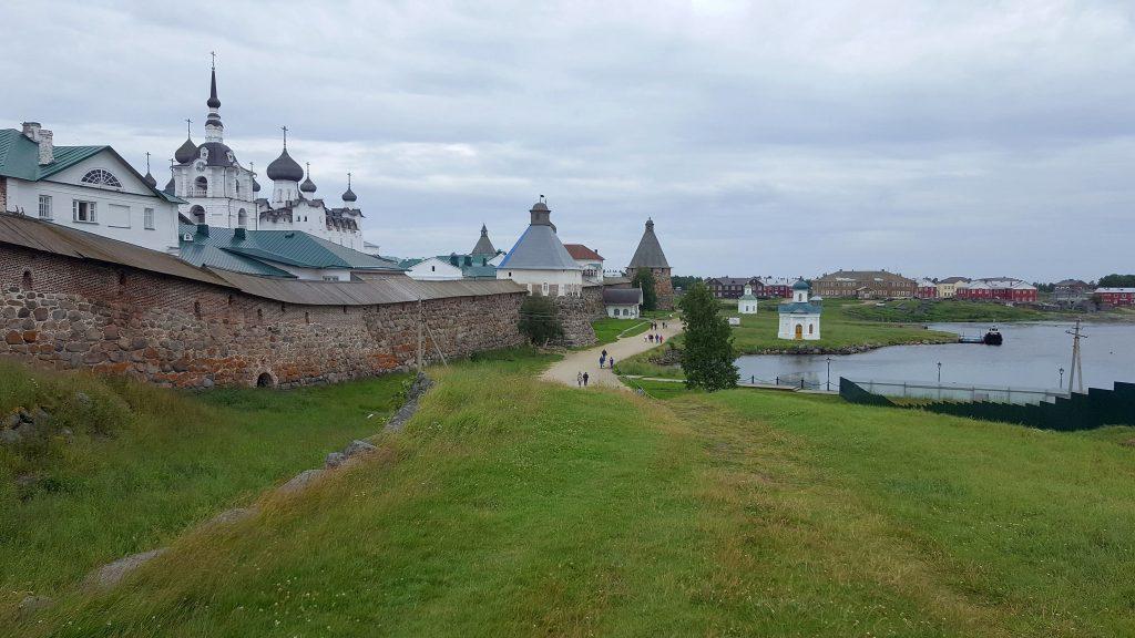 Einst Muster für den Gulag - das Solowezki-Kloster in Russland